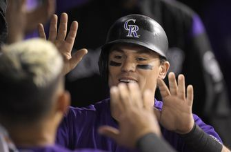 Rockies edge Dodgers 2-1 on Gonzalez's pinch-hit single