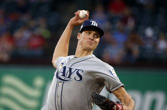 Glasnow limits Rangers to 2 infield singles in Rays' 3-0 win