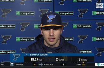 Schenn on Husso: 'We've got to play better in front of him'