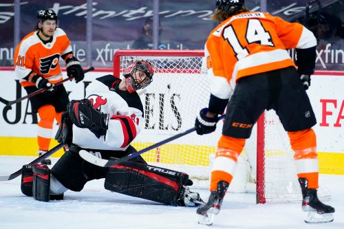 Gritty strips as ugly Devils season ends with loss to Flyers