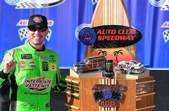 Larry Mac and Regan Smith say it's too early to compare Kyle Busch to Jimmie Johnson