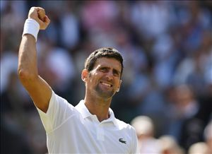 Novak Djokovic wins fourth Wimbledon title: Former world number one beats Kevin Anderson 6-2 6-2 7-6 to win first Grand Slam title in over two years