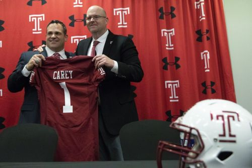 New Temple football coach Rod Carey signs long-term deal with lofty buyout, showing willingness to stay for a while