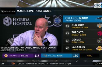 Steve Clifford discusses how Magic topped Lakers 130-117