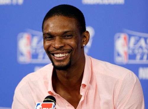 Chris Bosh ready to see his jersey retired by Miami Heat