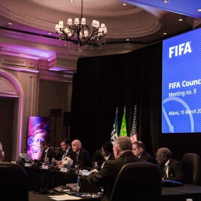 FIFA Council decides on key steps for upcoming international tournaments