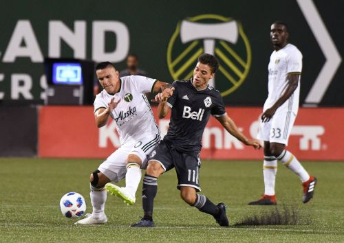 Vancouver snaps Portland's unbeaten run with 2-1 victory
