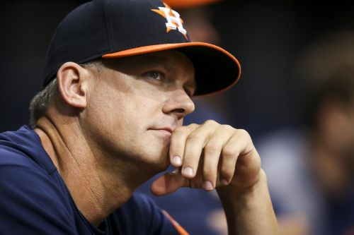 Houston Astros manager AJ Hinch, GM Jeff Luhnow suspended one year for team's sign stealing