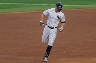 Giancarlo Stanton goes 4-for-5 with a home run and three RBI to help Yankees top Astros, 7-3