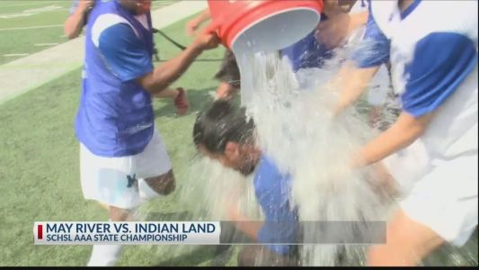 May River boys soccer dominates in first state championship title