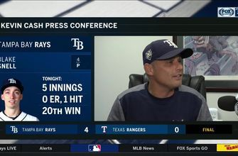 Kevin Cash stresses how valuable Blake Snell is to the Rays