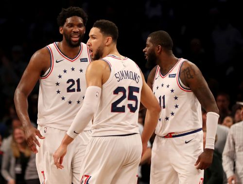 Opinion: Joel Embiid and Ben Simmons play like 76ers cornerstones they need to be