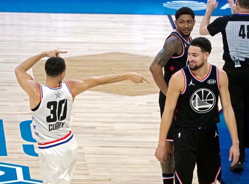 Warriors' Steph Curry and Klay Thompson relish chance to play as rivals at All-Star Game