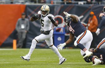 Bridgewater throws for 2 TDs, surging Saints top Bears 36-25