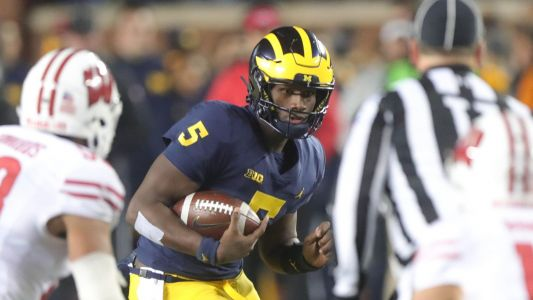 Michigan football's Lavert Hill being evaluated for a concussion