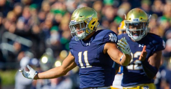 This Guy Plays Notre Dame Football: 11 Alohi Gilman, Safety