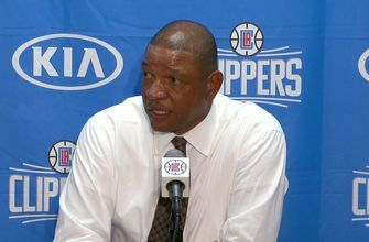 WATCH: Doc Rivers following Clippers narrow win
