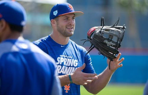 Tim Tebow is baseball's hero when it needs him most