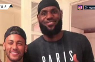Skip and Shannon share their thoughts on LeBron's world tour