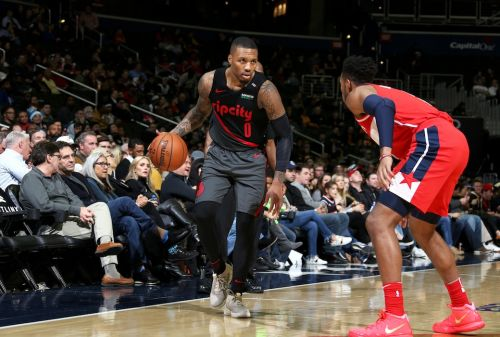 Damian Lillard Drops 40 Points in Win Over Wizards 👀