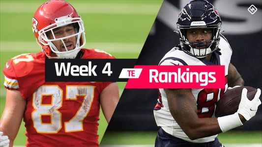 Week 4 Fantasy TE Rankings: Must-starts, sleepers, potential busts at tight end