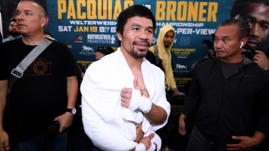 Pacquiao-Broner: Manny Pacquiao reflects on where he's been, looks ahead to where he's going