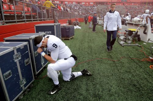 McSorley throws 2 TDs, No. 16 Penn State D dominates in win
