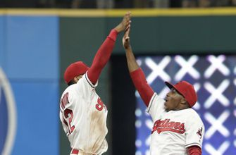 Bieber pitches into 8th, Indians hang on to beat Yankees 6-5