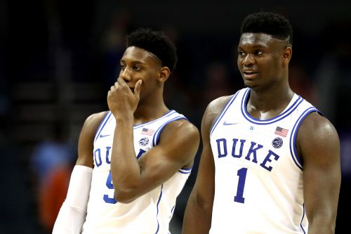 Zion Williamson gives Knicks huge RJ Barrett NBA draft endorsement