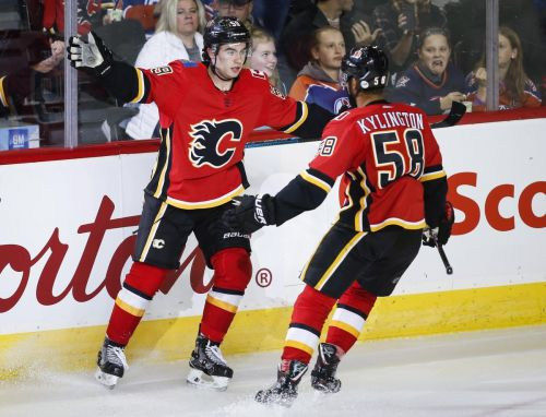 Flames rookie Dillon Dube impressed in Calgary's 7-4 loss to Edmonton Oilers