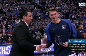 Luka Doncic is Western Conference Rookie of the Month