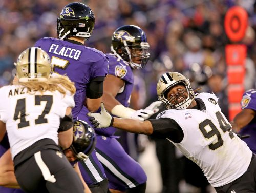 Saints at Ravens snap counts: Cam Jordan plays every defensive snap