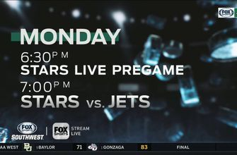 Dallas goes on the Road Starting with Winnipeg   Stars Live