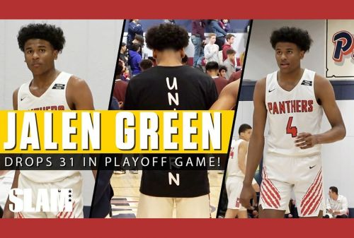Jalen Green DROPS 31 Points in Section Semifinal! 😈