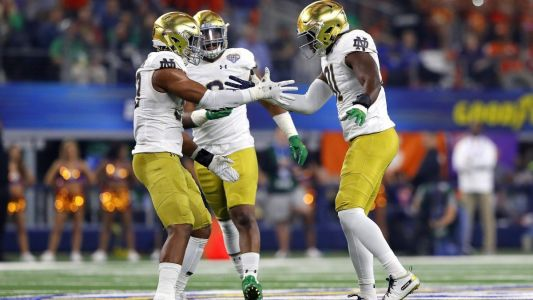 Notre Dame's defensive depth chart, a touch lighter with D.J. Morgan's intended transfer