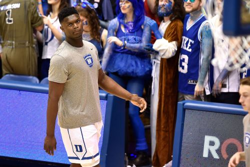 Zion Williamson forced to exit Duke-UNC clash after his sneaker blew up
