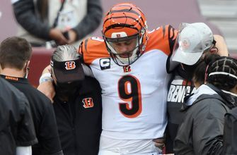 Burrow receives support from peers after reported season-ending injury