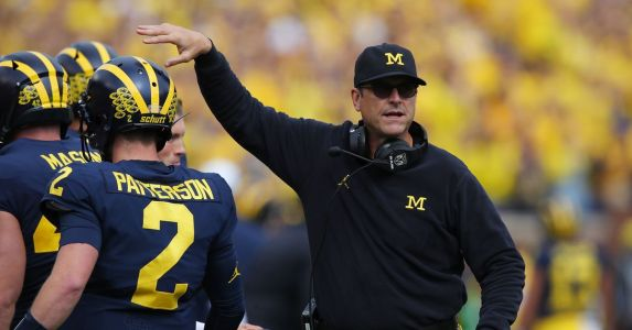 Jim Harbaugh comments on hiring DL coach Shaun Nua