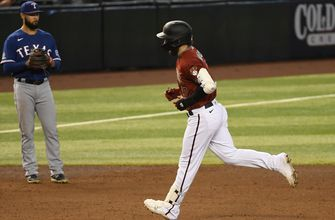 Wyatt Mathisen's two home runs power Diamondbacks in 7-3 win over Rangers