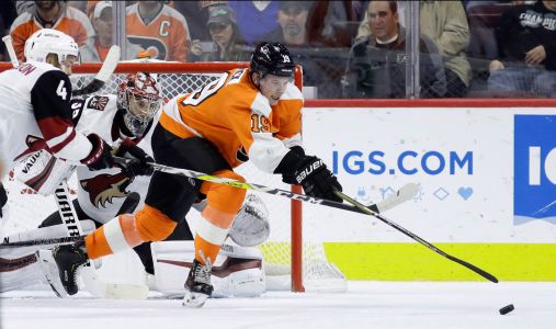 Gostisbehere's goal lifts Flyers over Coyotes 5-4 in OT