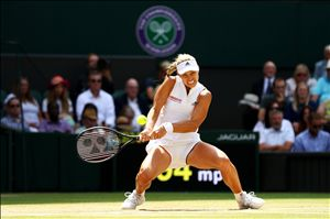 Redemption for Angelique Kerber as she defeats Jelena Ostapenko to return to the Wimbledon final
