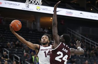 The Latest: Arizona St tops No. 15 MSU at MGM Main Event
