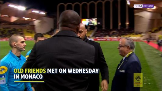 Teammates, foes and friends - Vieira and Henry