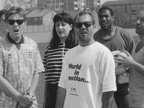 World in Motion: England's World Cup 1990 song by New Order