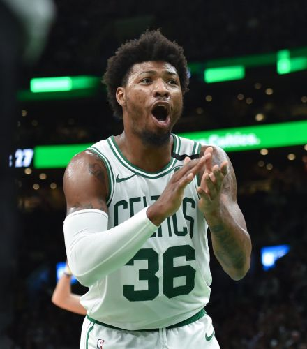 Boston Celtics guard Marcus Smart says he's recovered from coronavirus