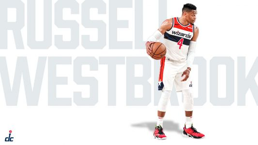 Why Russell Westbrook is wearing No. 4 for the Wizards and not 0