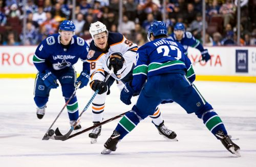 Boeser's 3-point game leads Canucks past Oilers 4-2
