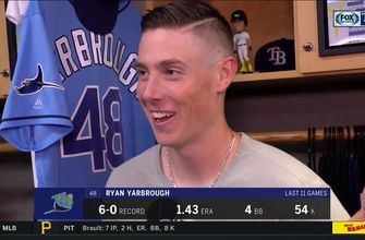 Ryan Yarbrough recaps career high 10 strikeouts