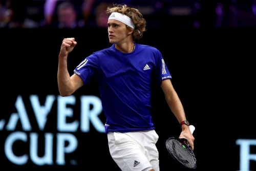 Zverev fightback puts Europe on top at Laver Cup