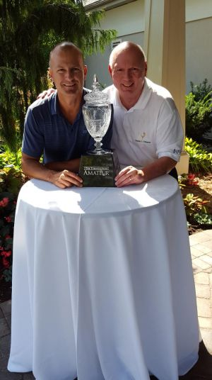 Winning is all in a day's work - at the Star amateur golf championships
